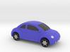 VW Beetle Full Color 3D Printer By Space 3D  3d printed