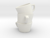 Three Cup Stl 3d printed