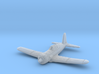 Vultee P-66 Vanguard 1/285 6mm Frosted Ultra 3d printed