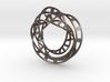 Triple Twisted Mobius Loop (Pendant) 3d printed