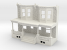 WEST PHILLY ROW HOME FRONT O SCALE TWINS 3d printed