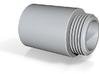 Vacuum Cleaner Male Hose Taper - 3/4 BSPP 3d printed