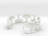 Natural Tree Bracelet 7in (18cm)  3d printed