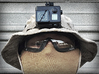 Boonie Hat Mount GoPro HERO 3/4 (Slim Case) 3d printed