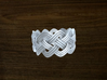 Turk's Head Knot Ring 4 Part X 11 Bight - Size 12. 3d printed