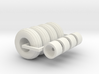 1/64 12.5L-15 Implement Tires And Wheels X 4 3d printed