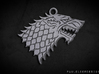 Stark Pendant: 3cm 3d printed Render of model
