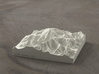 4'' Denali, Alaska, USA, Sandstone 3d printed Radiance rendering of the model, viewed from the South