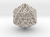 Flower Of Life Icosahedron 3d printed