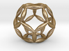 Flower Of Life Dodecahedron 3d printed