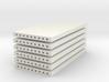 'N Scale' - (6) Precast Panel - 20'x10'x1' 3d printed