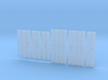 DR0001 GPSD Dash 2 Generic Doors 1/87.1 Scale 3d printed