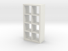 1:24 Modern Bookshelf 3d printed