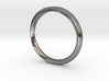 Mobius Ring with Groove Size US 3.75 3d printed