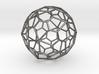 0319 Pentagonal Hexecontahedron E (a=1cm) #001 3d printed