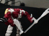 Predacon Blight's 3mm Sludgethrower 3d printed Hun Grr with the Blotter and the Metalmuncher (available separately)