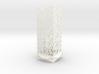 Lamp Square Column - Undulation Design (ripples) 3d printed