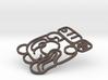 Maya Keychain - Robert (outline) 3d printed