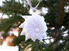 Cristellaria Ornament - Science Gift 3d printed Cristellaria ornament in white nylon plastic