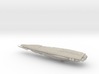 Sa'Ami Battlecruiser Spaceship - Full Scale 5 Inch 3d printed