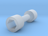 Bachmann 4-4-0 Replacement Drive Shaft (Old Style) 3d printed