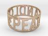Peaceandlove 72 Bracelet 3d printed