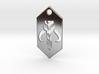 Mandalorian / Mythosaur Pendant Keychain (Star War 3d printed