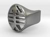 Fish Skeleton Ring 3d printed