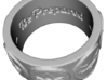 "Scout Neckerchief Slide 3d printed Inside of ring is engraved "" ~ Be Prepared ~ On Hy Honor ~"