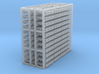 48 Pallets 3d printed 48 4X4 pallets Z scale