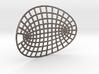 Hyperbolipse Keychain 3d printed