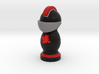Catan Robber Knight Blk Red Maple Leaf 3d printed