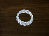 Turk's Head Knot Ring 3 Part X 13 Bight - Size 7.5 3d printed