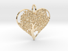 Let Your Love Grow pendant 3d printed