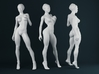 1:24 Strong Woman 010 3d printed