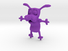 Courage the cowardly dog charm 3d printed