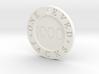 One Eyed Jacks Poker Chip (1-Sided) 3d printed