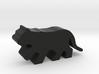 Game Piece, Big Cat, running 3d printed