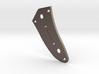 Jaguar Lower Control Plate - Tele/Strat Switch Bev 3d printed