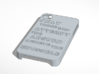 i4 case Absurd 3d printed iPhone 4 case with inspirational quote