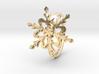Snowflake Ring 2 d=16mm h21d16 3d printed