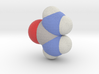 Urea molecule (x40,000,000, 1A = 4mm) 3d printed