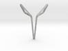 Space Elephant Pendant. Elegant Elephant 3d printed