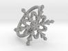Snowflake Ring 2 d=17mm h21d17 3d printed