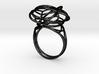 FLOWER OF LIFE Ring Nº1 3d printed