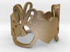 Peace and Love Ring Size 8.5 3d printed