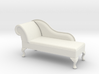 1:24 Queen Anne Chaise (Right Facing) 3d printed