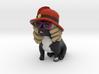 Sassy French Bulldog 3d printed