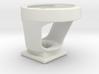 Cateye to Garmin mount 3d printed