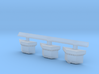 1:350 Scale USS John F Kennedy CONFLAG Stations 3d printed